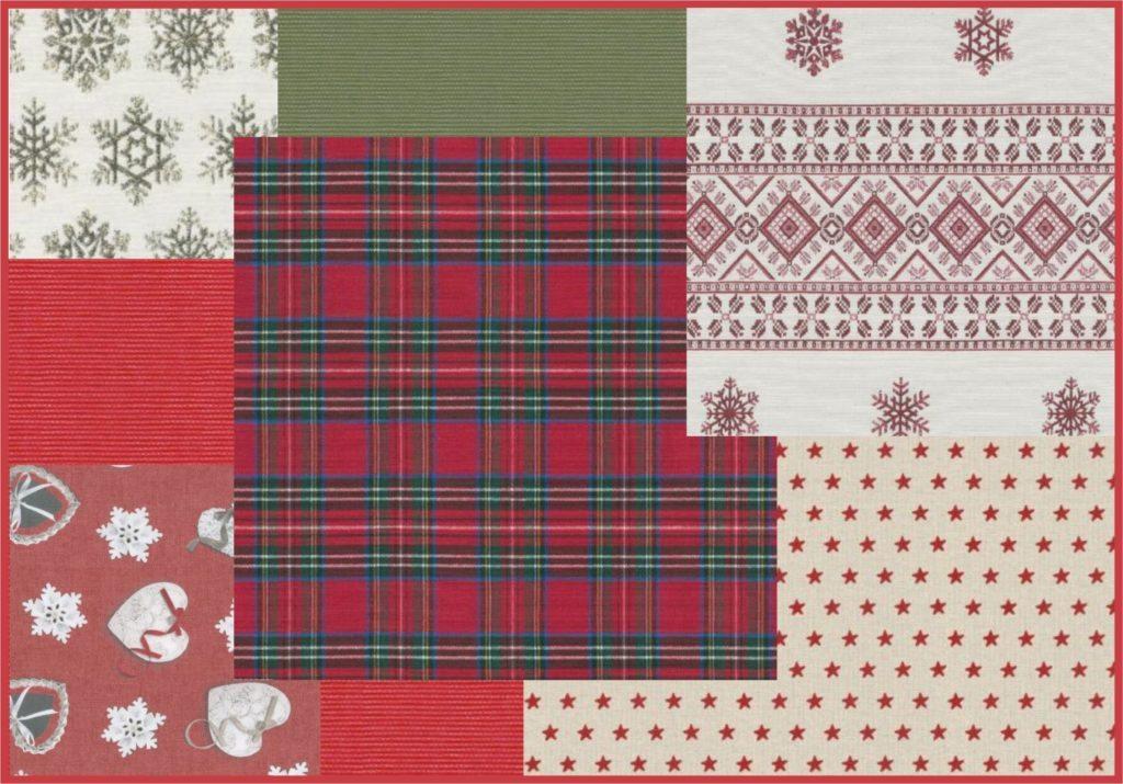 vianocne tkaniny
