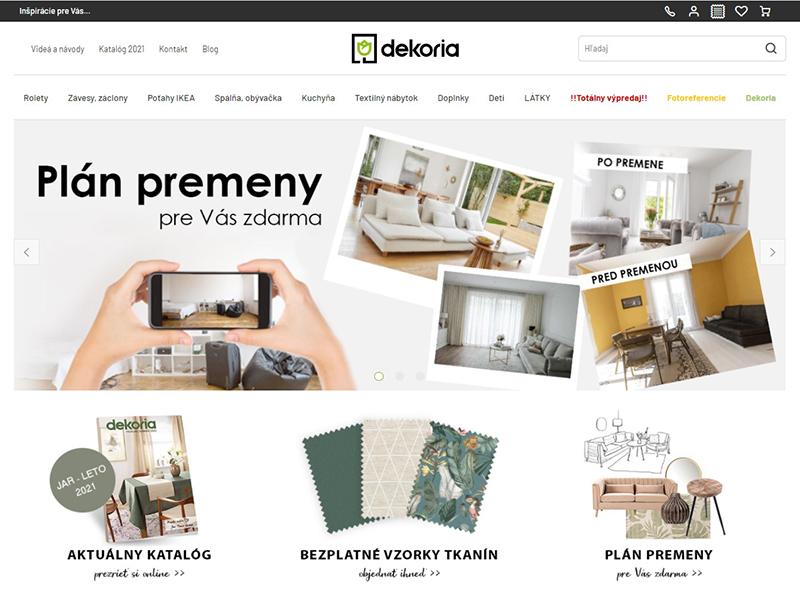 E-shop Dekoria